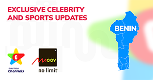 Kirusa & moov presents the first celebrity and sports service in benin