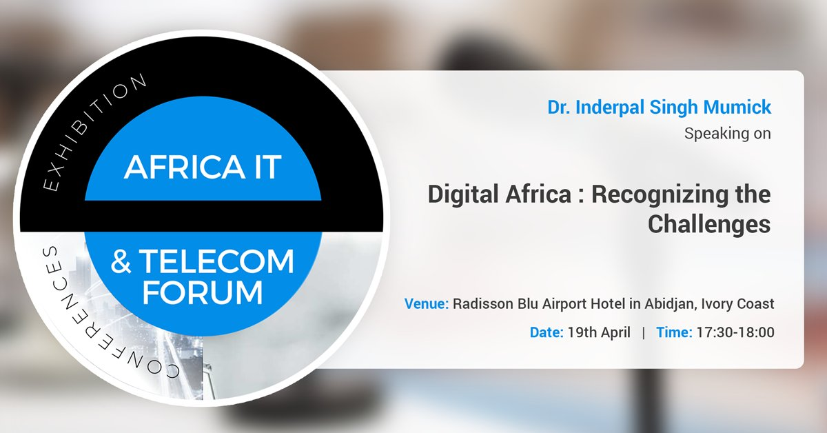 kirusa ceo at Africa IT & Telecom Forum 2018