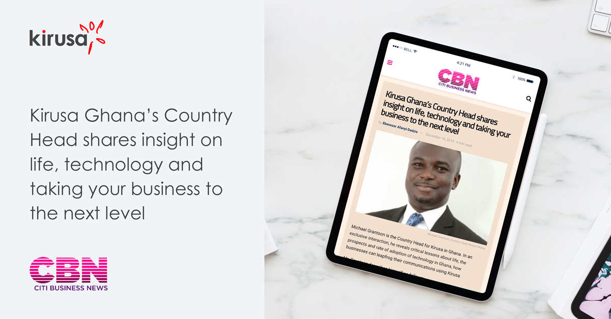 Ghana's Country Head Shares Insight On life, Technology And Taking Your Business To The Next Level